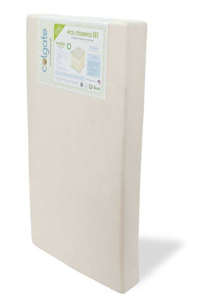 simmons mattress cotton review cribs no beautyrest top compromise naturepedic organic greenguard crib soybean sealy classic rated fab natural kids seamless colgate baby best