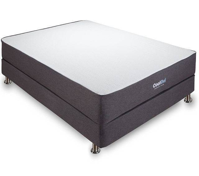 Classic Brands 10.5 Inch Cool Gel Ventilated Memory Foam Mattress