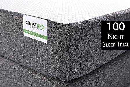 GhostBed 11-Inch Latex & Gel Memory Foam Mattress