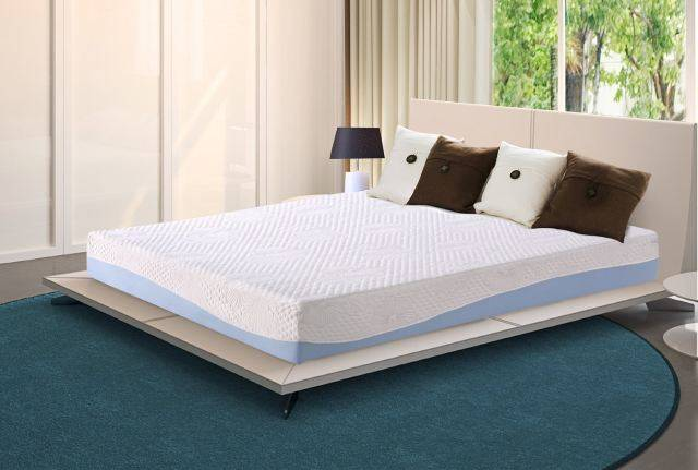 Olee Sleep 10 Inch Gel Infused Layer Top Memory Foam Mattress