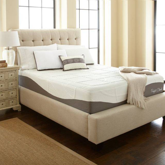 "Perfect Cloud Elegance Gel Pro 12"" Memory Foam Mattress"