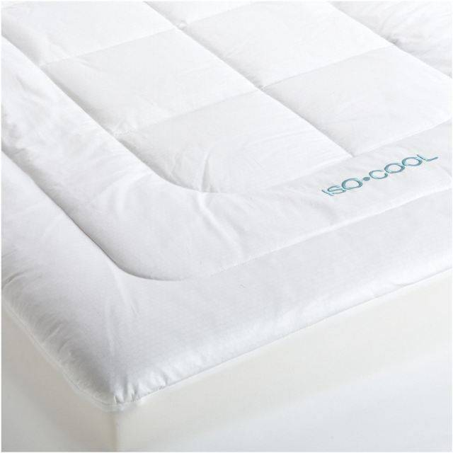 Iso-Cool Memory Foam Mattress Topper with Outlast Cover