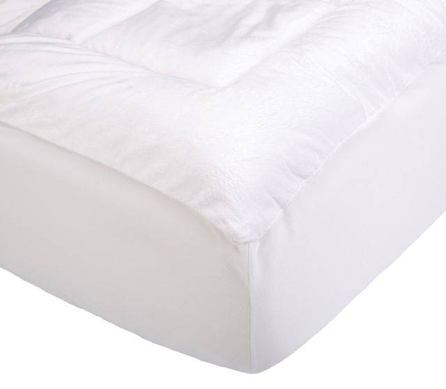 Pinzon Hypoallergenic Overfilled Microplush Mattress Pad
