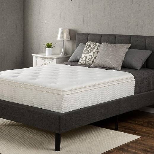 "Sleep Master Euro Box Top Classic Spring 12"" Mattress"