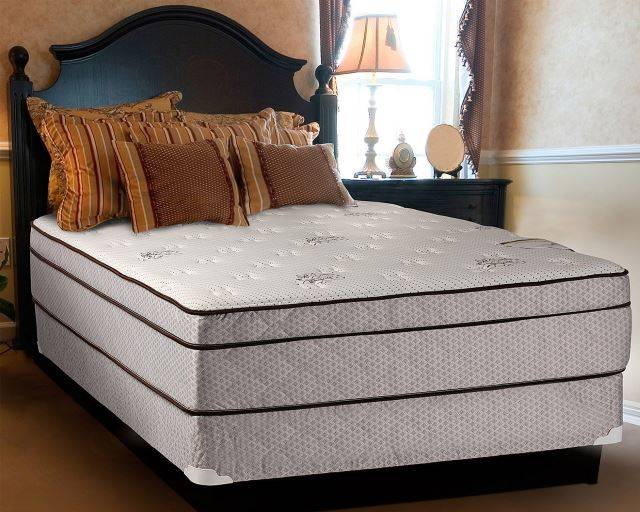 "Continental Sleep Fifth Ave Collection 13"" Euro Top Orthopedic Mattress"