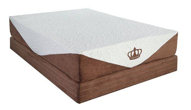 "DynastyMattress 10"" CoolBreeze Gel Memory Foam Mattress"