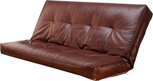 Leather 5000 Series Futon Mattress Vertical 8 Innerspring