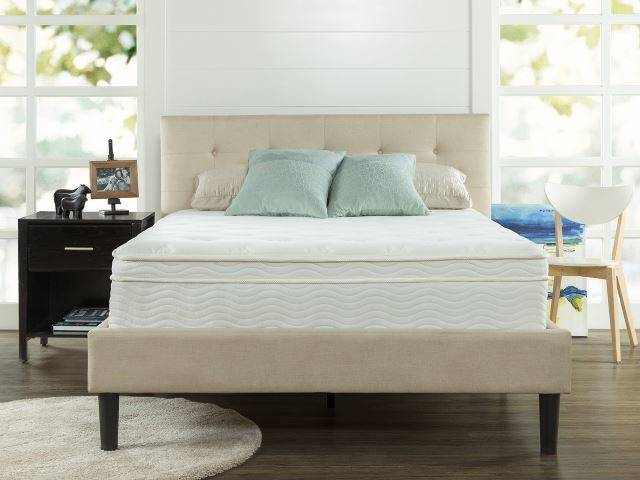 "Sleep Master Ultima Comfort 13"" Deluxe Euro Box Top Spring Mattress"
